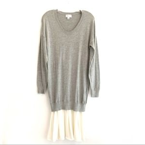 3.1 PHILIP LIM FOR TARGET GRAY WITH BEIGE SKIRT